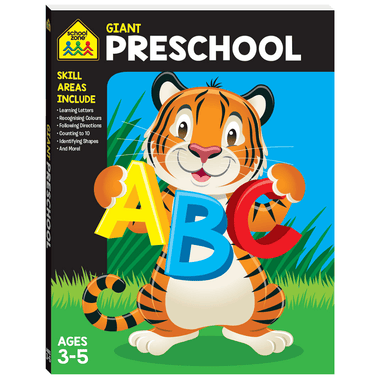 School Zone Giant Workbook: PRESCHOOL