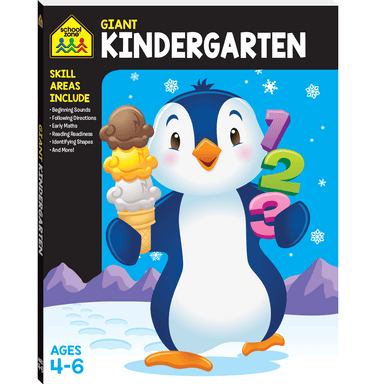 School Zone Giant Workbook: KINDERGARTEN