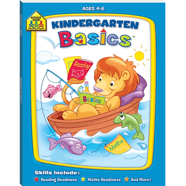School Zone Basic Deluxe: Kindergarten Basics
