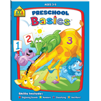 School Zone Basic Deluxe: Preschool Basics