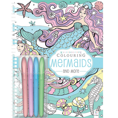 Kaleidoscope Colouring - Pastel Mermaids