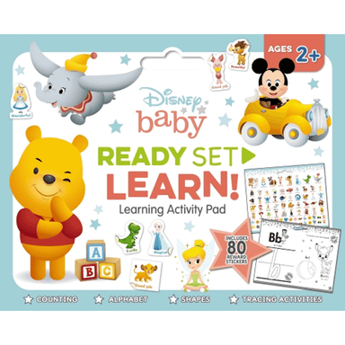 SCHOLASTIC Disney Baby READY SET LEARN! Learning Activity Pad