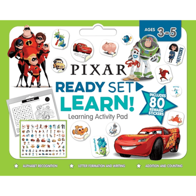 SCHOLASTIC Disney-Pixar READY SET LEARN! Learning Activity Pad