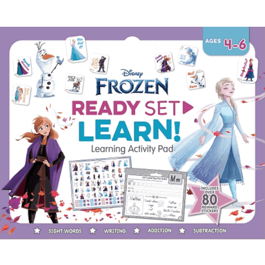SCHOLASTIC Disney Frozen READY SET LEARN! Learning Activity Pad