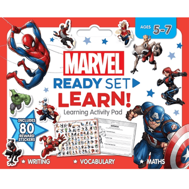 SCHOLASTIC Marvel READY SET LEARN! Learning Activity Pad