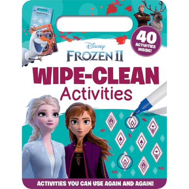 SCHOLASTIC Disney Frozen II Wipe-Clean Activities