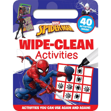 SCHOLASTIC Marvel Spiderman Wipe-Clean Activities