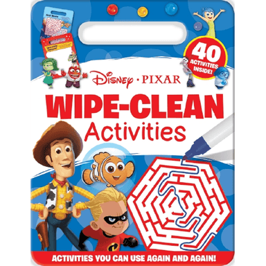 SCHOLASTIC Disney-Pixar Wipe-Clean Activities