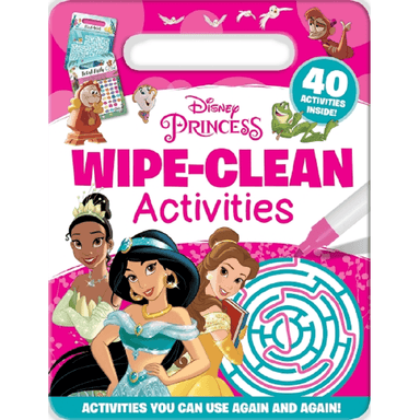 SCHOLASTIC Disney Princess Wipe-Clean Activities