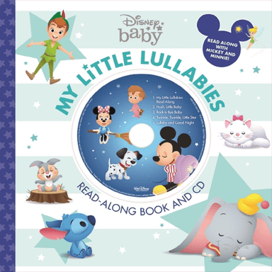 SCHOLASTIC Disney Baby My Little Lullabies Read-Along Book and CD
