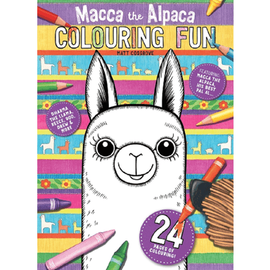 Matt Cosgrove Macca the Alpaca: Colouring Fun