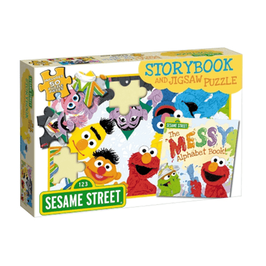Sesame Street: Storybook and Jigsaw Puzzle