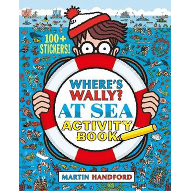 Martin Handford Where's Wally? At Sea Activity Book