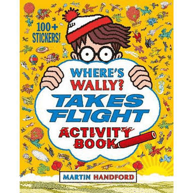 Martin Handford Where's Wally? Takes Flight Activity Book