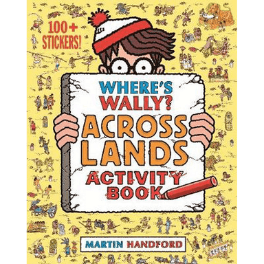 Martin Handford Where's Wally? Across Lands Activity Book