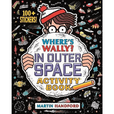 Martin Handford Where's Wally? In Outer Space Activity Book