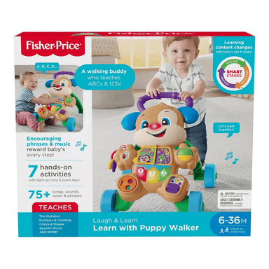 Fisher-Price Laugh & Learn - Learn with Puppy Walker