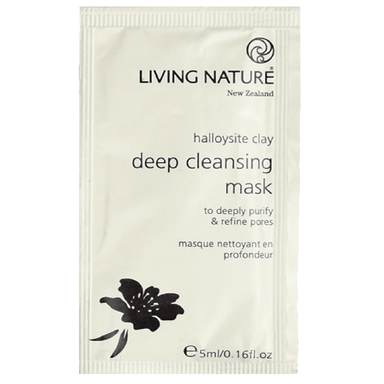 Living Nature Deep Cleansing Mask 5mL x 10