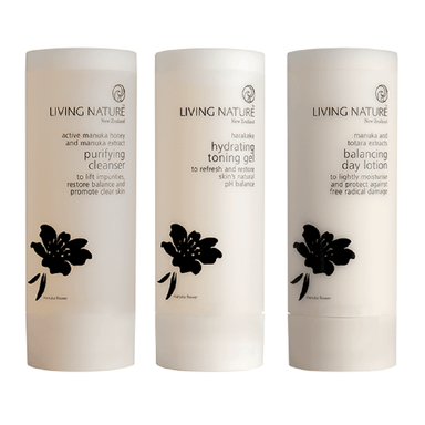 Living Nature Skin Steps to Purify Oily Skin Pack