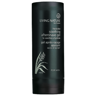 Living Nature Soothing Aftershave Gel 100mL