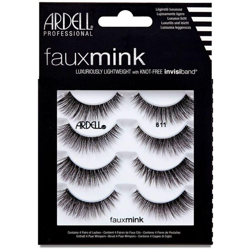 Ardell Fauxmink Invisiband - 811 Black (4 pairs)