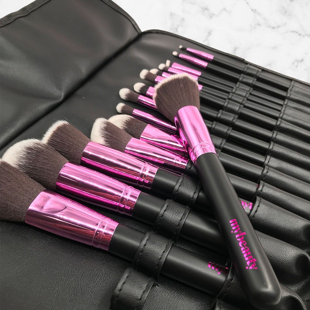 mybeauty Professional 15pc Synthetic Brush Set