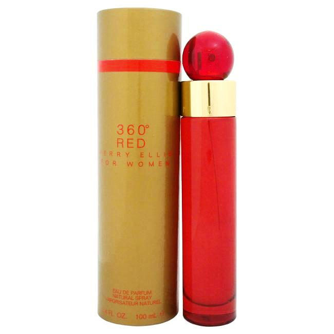 360 Red by Perry Ellis for Women - 100 ml EDP