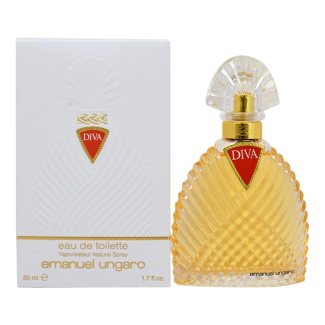 Diva by Emanuel Ungaro for Women - 50 ml EDT