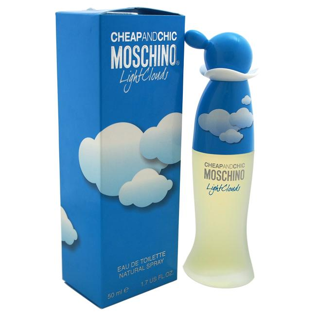 Cheap and Chic Light Clouds by Moschino for Women - 50 ml EDT
