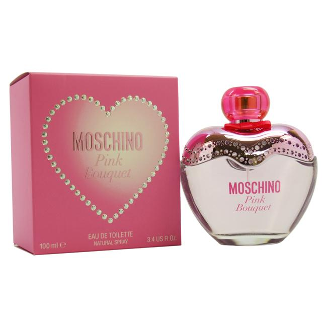 Pink Bouquet by Moschino for Women - 100 ml EDT