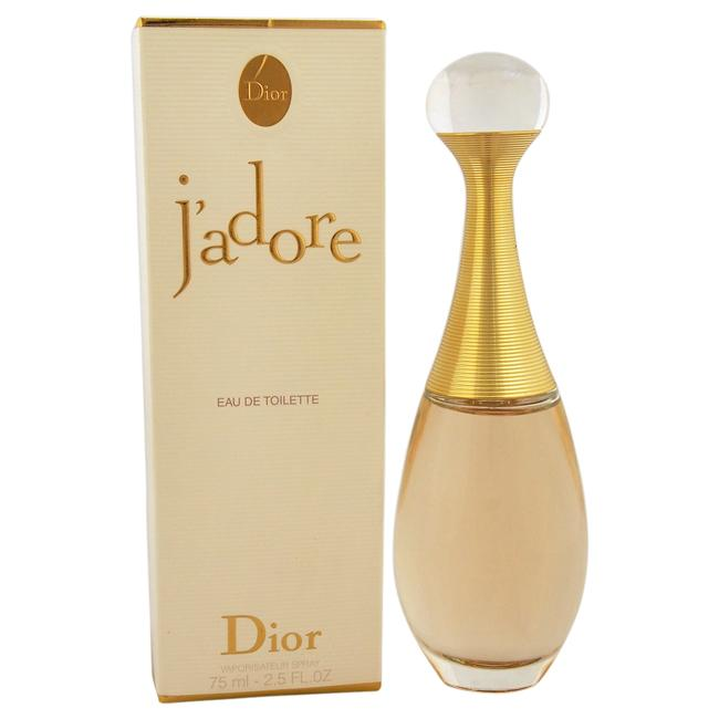 J'adore by Christian Dior for Women - 75 ml EDT