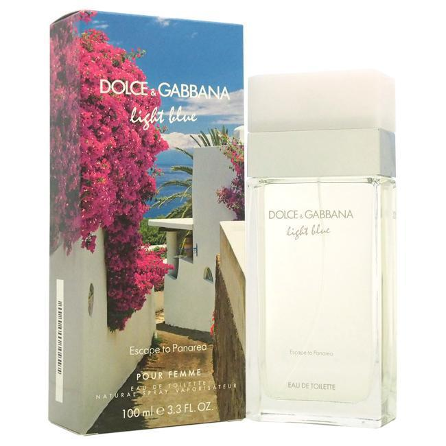 Light Blue Escape to Panarea by Dolce & Gabbana for Women - 100 ml EDT