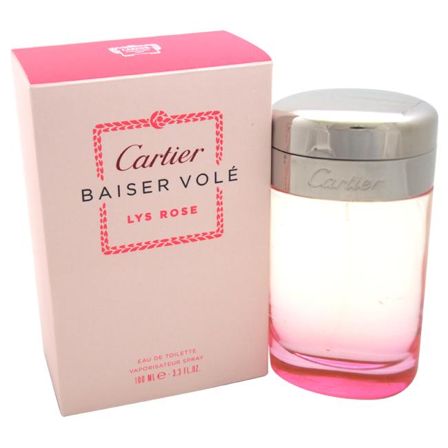 6352ca98385 Baiser Vole Lys Rose by Cartier 100ml EDT – The Brand Outlet