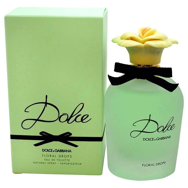 Dolce Floral Drops by Dolce & Gabbana for Women - 75 ml EDT