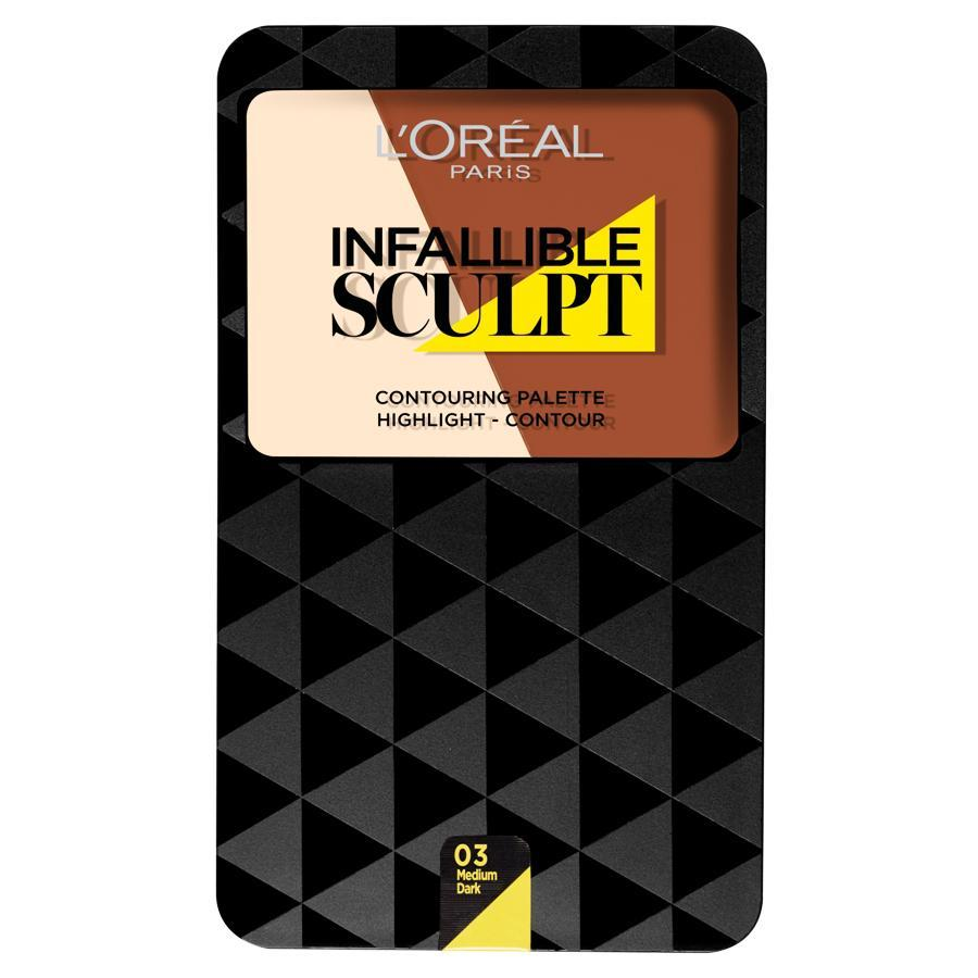 L'Oreal Infallible Sculpt Contour 03 Medium Dark