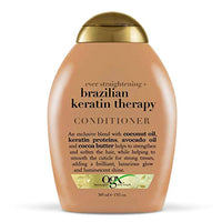 Organix Ever Straight Brazilian Keratin Therapy Conditioner 385ml