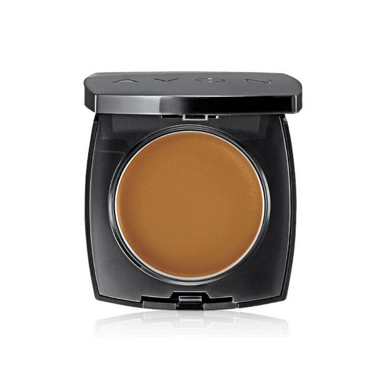AVON True Color Cream-Powder Foundation Caramel