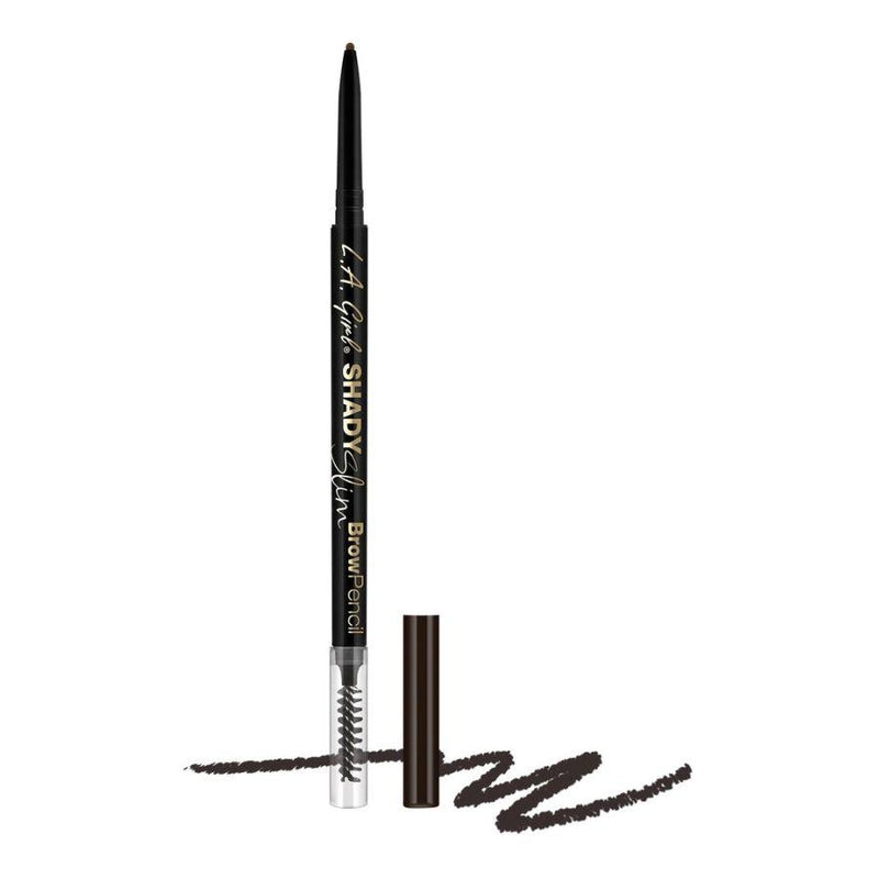 L.A. Girl Shady Slim Brow Pencil - 359 Blackest Brown