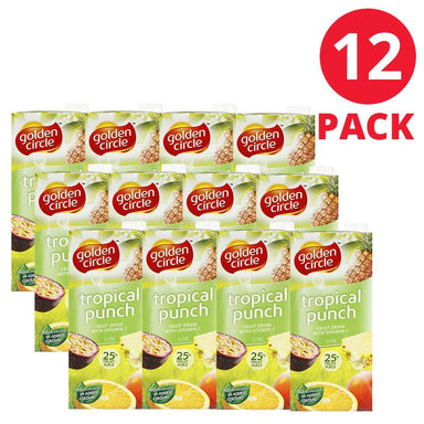 Golden Circle Tropical Punch Fruit Drink 1L 12 Pack