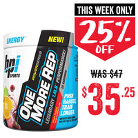 BPI Sports One More REP 25 Servings