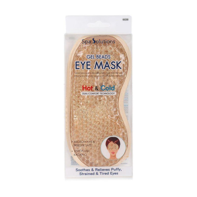 Cala Gel Beads Eye Mask - Gold