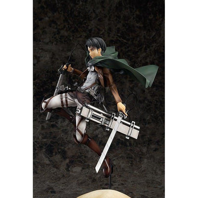 Attack On Titan LEVI 1/8 Scale Statue Figure by Good Smile