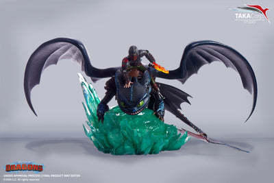 Toothless & Hiccup 1/6 Scale Premium Statue
