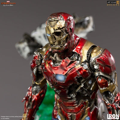 Iron Man Illusion Deluxe Art Scale Statue