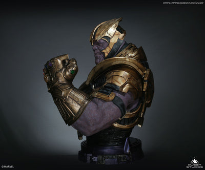 Thanos With Gauntlet Life-Size 1:1 Bust