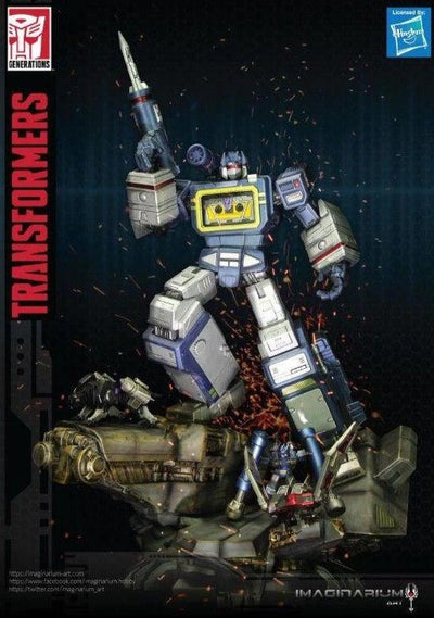 Transformers G1 Soundwave Statue EXCLUSIVE by Imaginarium Art