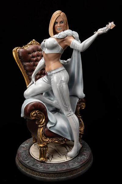 Emma Frost: The White Queen 1/4 Scale Statue
