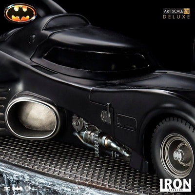 Batman 89' Batmobile & Batman 1/10 Scale BDS Statue