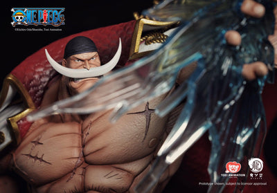 ONE PIECE Edward Newgate / WhiteBeard Statue