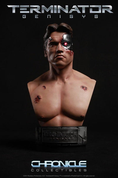 1984 TERMINATOR GENISYS Battle Damaged 1:2 SCALE BUST by Chronicle Collectibles